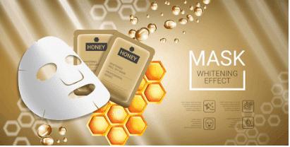 maschera viso al miele