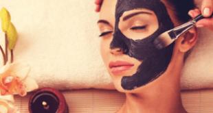 maschera viso nera