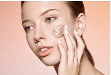 scrub viso acne