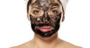maschera viso al carbone